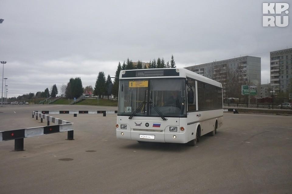 80fdb5aac6a6 «1-й» автобус в Сыктывкаре начал ходить до ТРЦ «Макси»