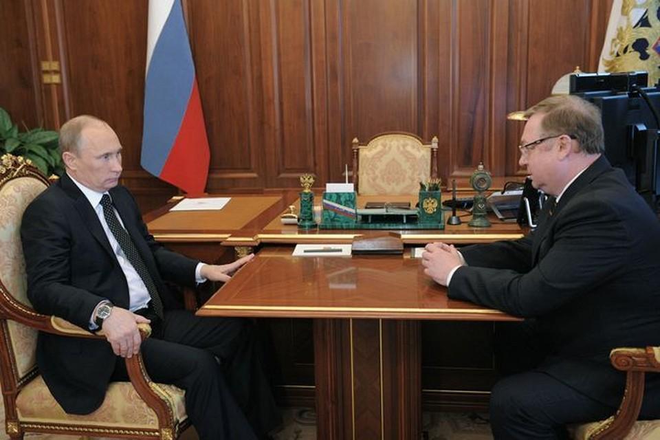 Степашин - Путину: Вот здесь, честное слово, ничего не пропало!