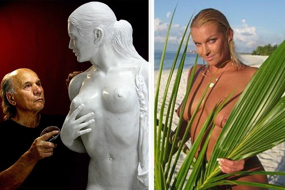 Анастасии Волочковой ее статуя не понравилась, по ее мнению у мраморной танцовщицы слижком много различий с оригиналом.