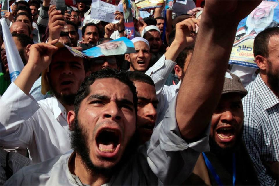 Египтяне возмущены снятым американцами фильмом