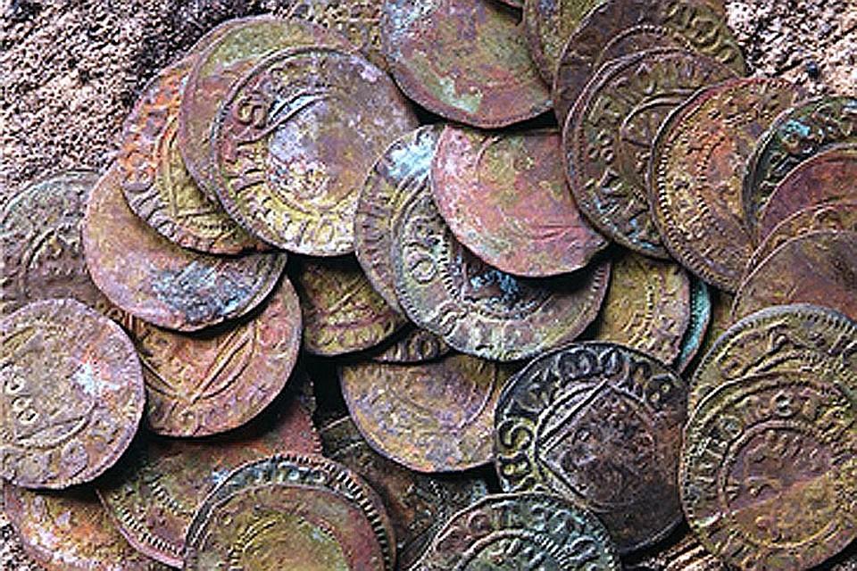 Вблизи датского городка ринге обнаружен древний клад серебря.
