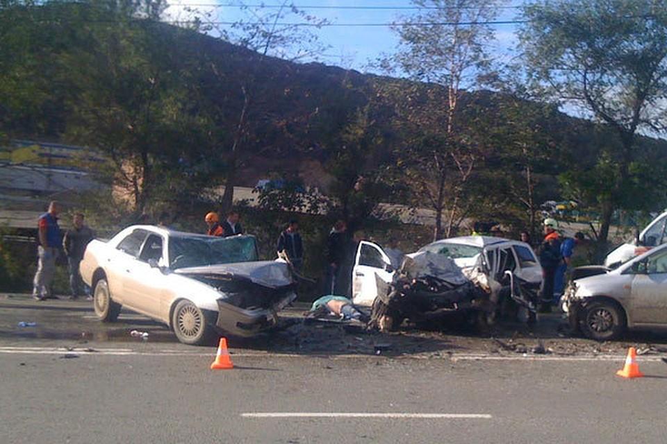 авария уфа Toyota Crown житель кемеровской области