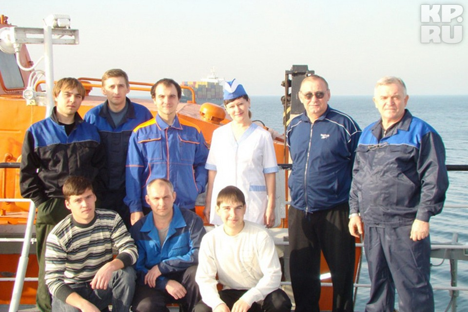 "Экипаж сухогруза ""Данади-1"" незадолго до трагедии"