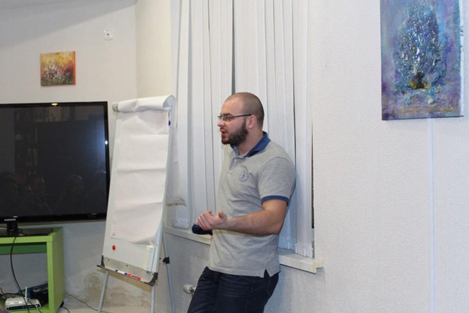 Максим Марцинкевич выступил в Минске