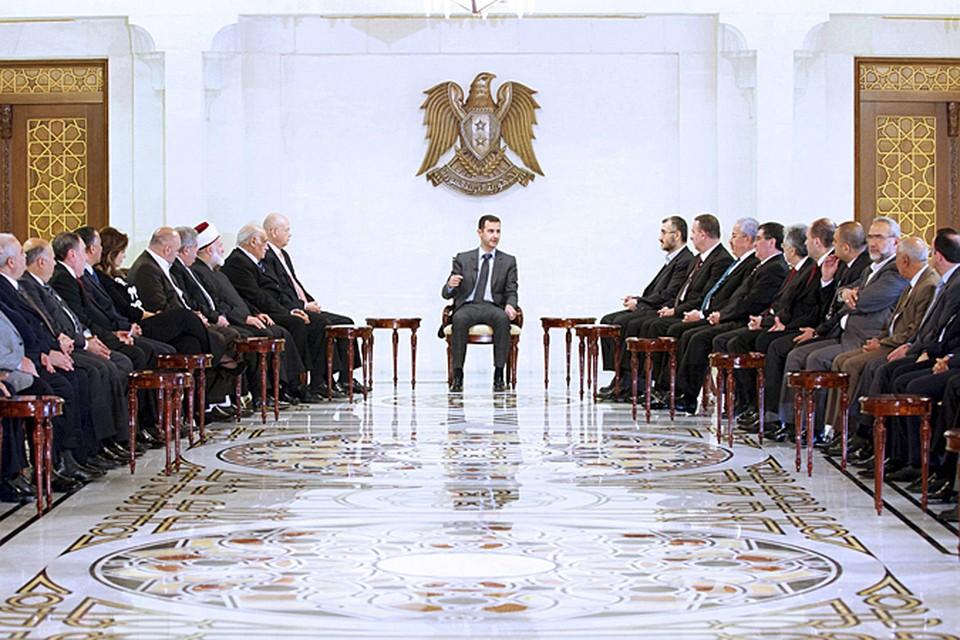 В воскресенье в  Дамаске состоялась встреча президента страны Башара Асада с представительной  делегацией соседнего Ливана