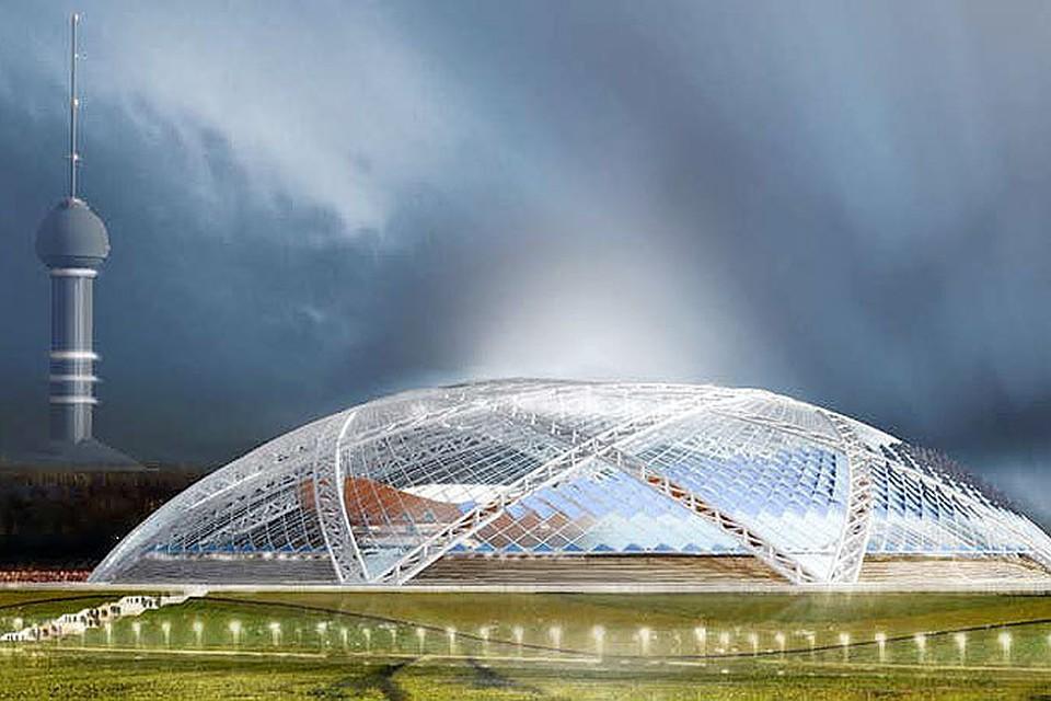 только как построить стадион с куполом термобелье Редфокс делится
