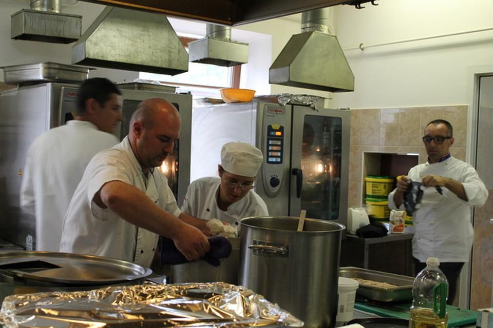 Итальянские повара приготовили пять национальных блюд для владимирцев