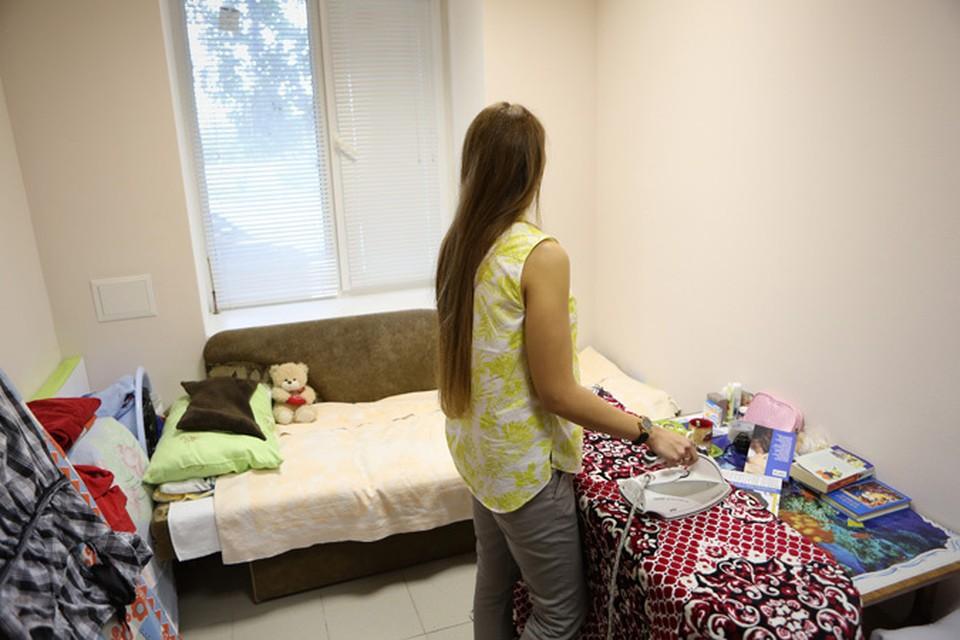 Девушки живут в центре «Берег» от месяца и больше. Здесь никого не гонят.