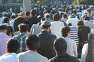 80 тысяч мусульман вышли на намаз