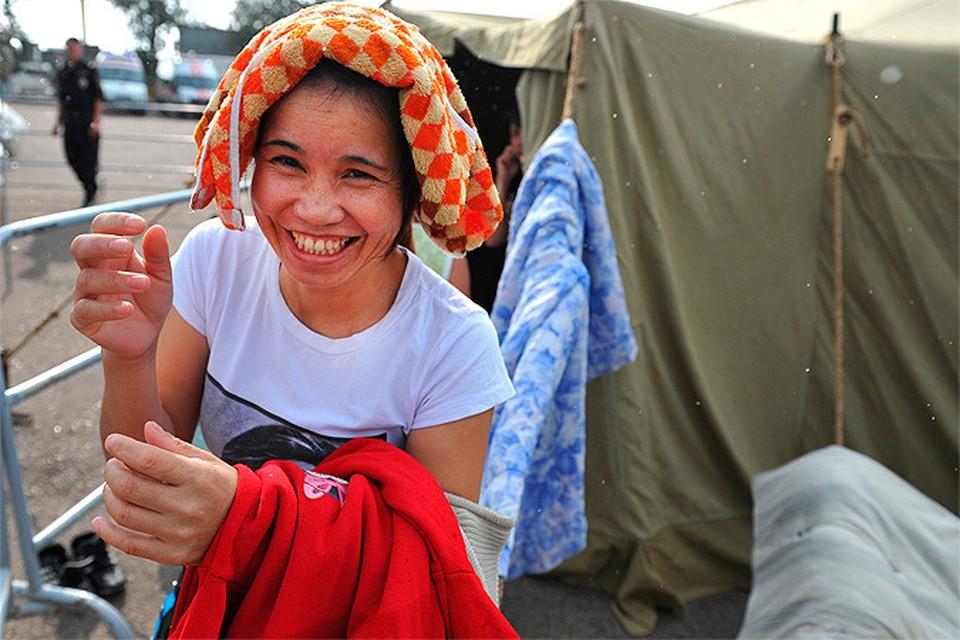 ФМС не может идентифицировать 90% вьетнамцев из палаточного городка в Гольяново