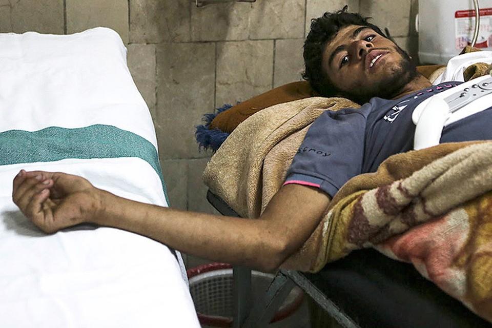 Ежедневно в больницы Дамаска попадают сотни раненых