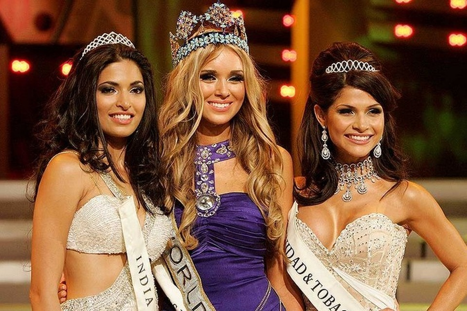 10 последних обладательниц короны «Мисс Мира»