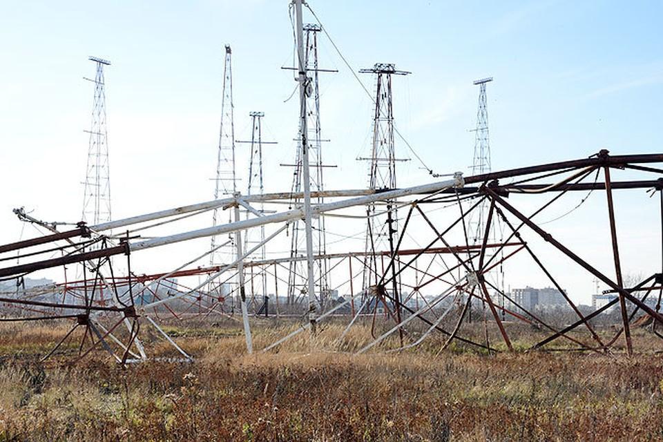 На территории самарского радиоцентра начали демонтировать вышки