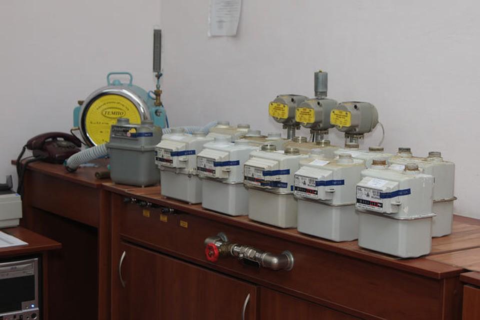 Установка газовых счетчиков схема фото 321