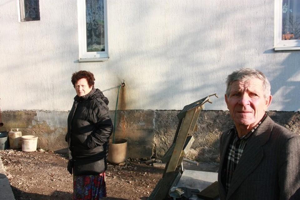 Иван Иванович и Фрида Воробьевские