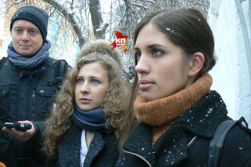 Мария Алехина и Надежда Толоконникова приехали в женскую колонию Нижнего.