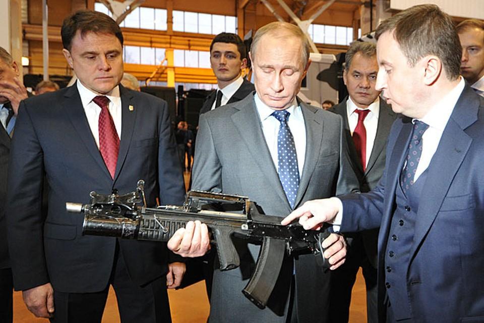 Во вторник в Туле Владимир Путин встретился со старым знакомым