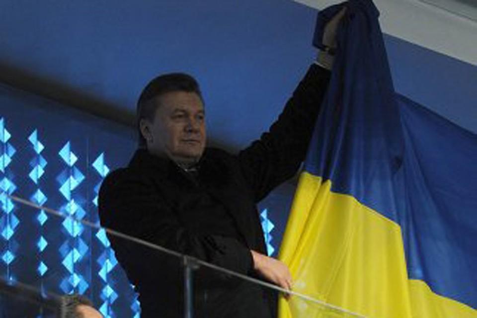 Российское телевидение вырезало Януковича из трансляции Открытия Олимпиады