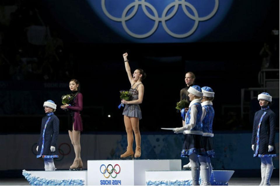 Аделина Сотникова завоевала первое золото одиночниц в истории России