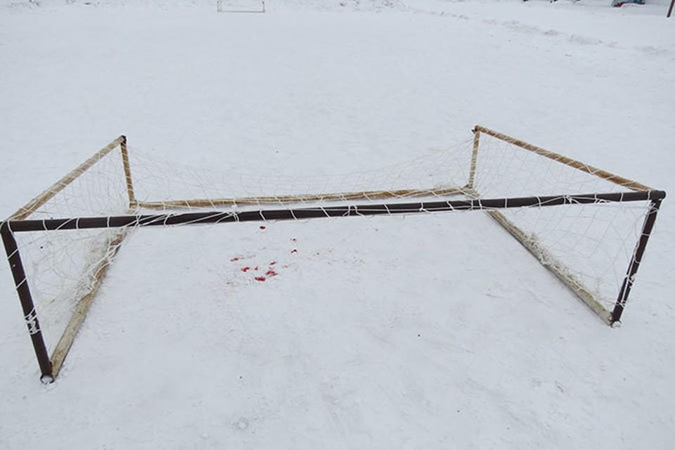 На старшеклассника из Омской области упали футбольные ворота