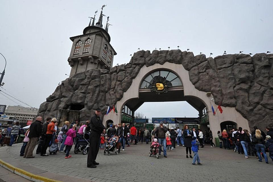 Зоопарк перешел на летние часы.