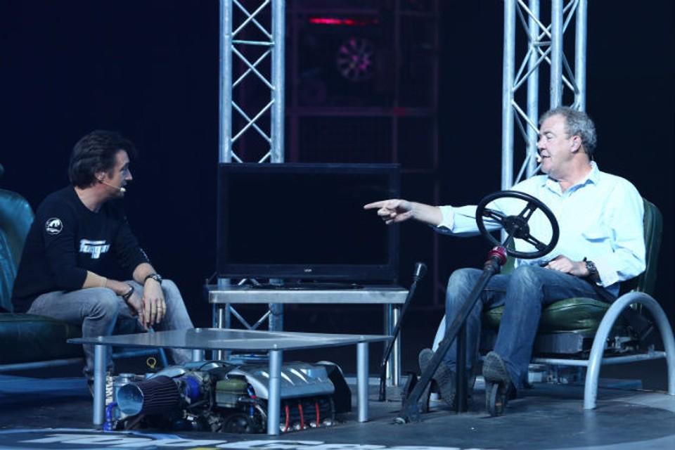 Ричард Хаммонд и Джереми Кларксон в Петербурге.