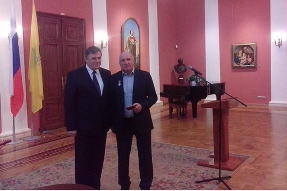 Главного тренера «Шинника» наградили медалью «За труды во благо земли Ярославской» второй степени