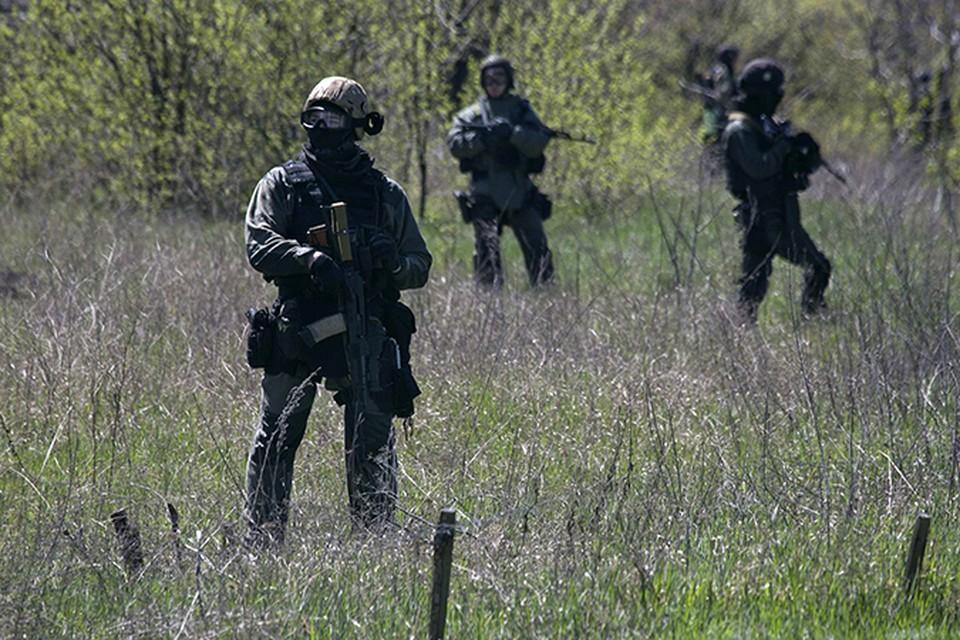 Военные Нацгвардии начали наступление на Краматорск