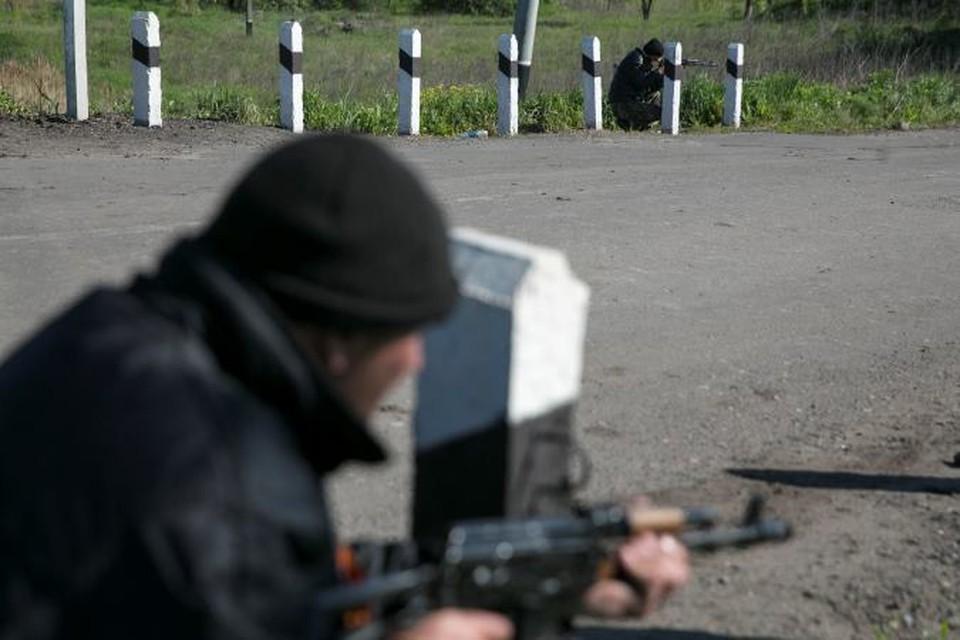 Ожесточенный бой идет под Луганском