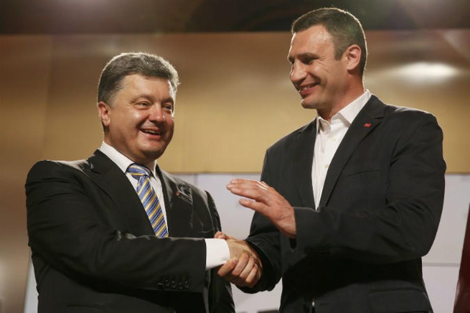 Петр Порошенко заявил, что столичным градоначальником избрали лидера партии УДАР Виталия Кличко.