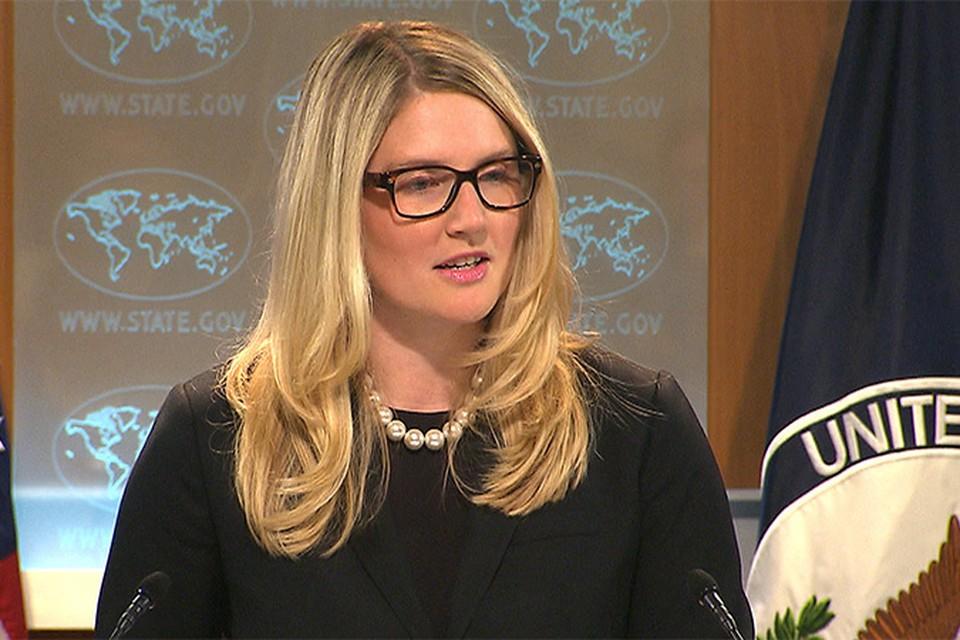 Представительница Госдепа Мари Харф усомнилась в информации Управления Верховного комиссара ООН по делам беженцев