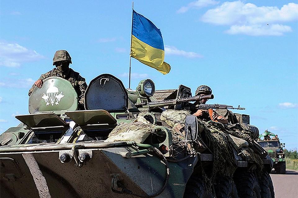 Части Нацгвардии Украины взяли Славянск