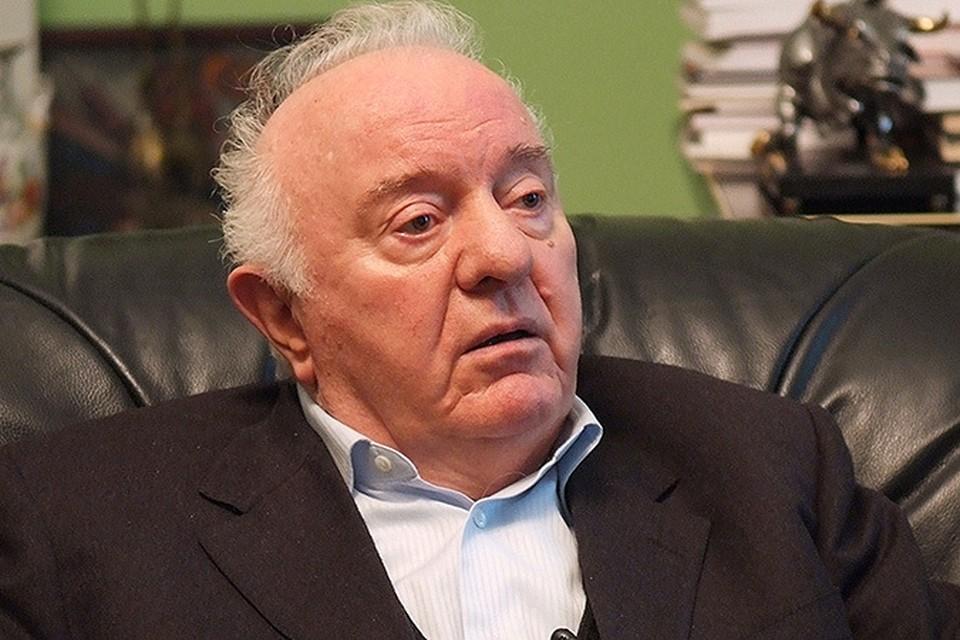 Эдуард Шеварднадзе в 2008 году