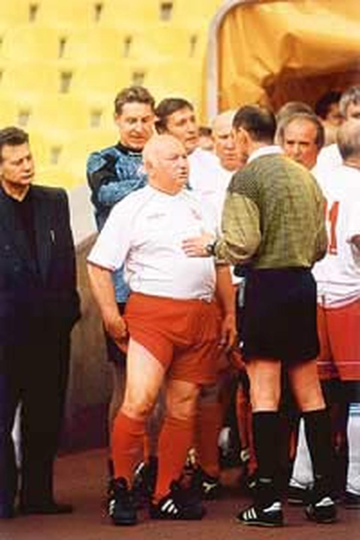 Какой же футбольный турнир без мэра Москвы?!