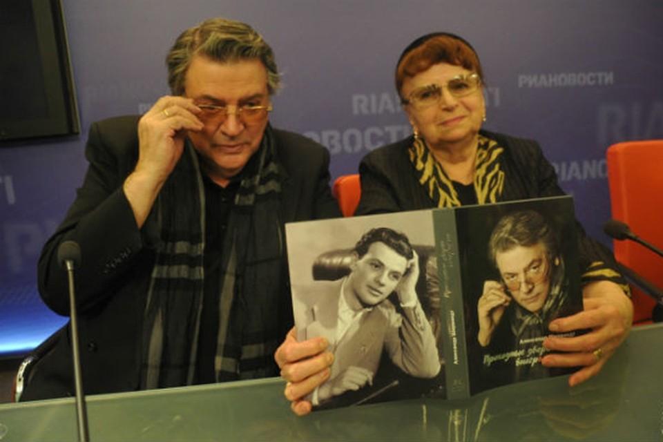 Александр Ширвиндт с супругой Натальей.