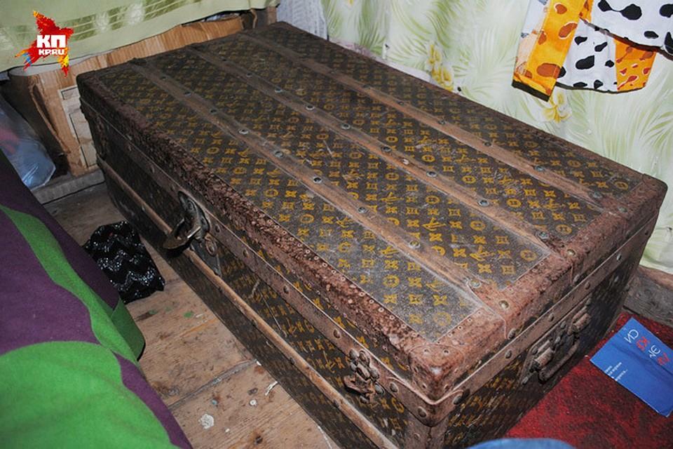 10e33d3049d0 Нижегородка нашла в деревне раритетный сундук Louis Vuitton. Фото:  предоставлено героиней материала.
