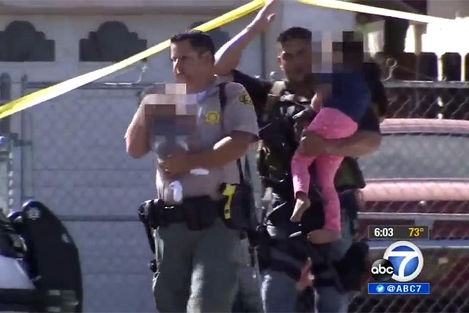 Двух детей удалось спасти