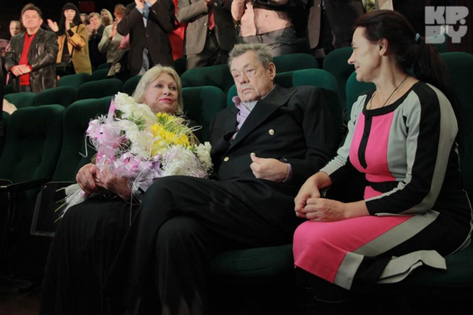 Николай Караченцов приехал в Минск на премьеру «Белых Рос».