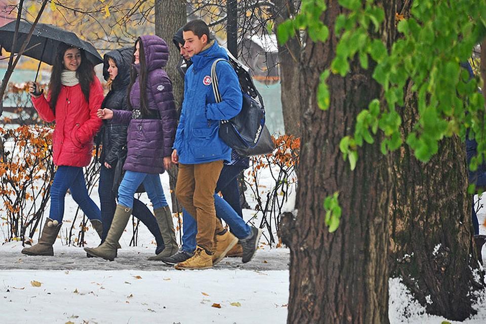 К ноябрьским праздникам в столице снова будет осень, а не зима