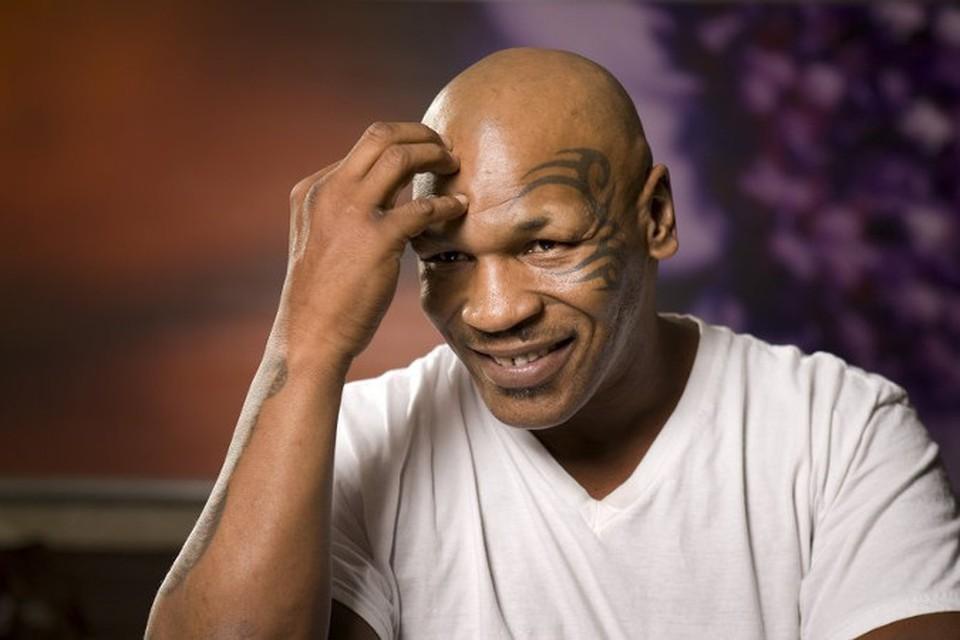 Скандально известный боксер Майк Тайсон
