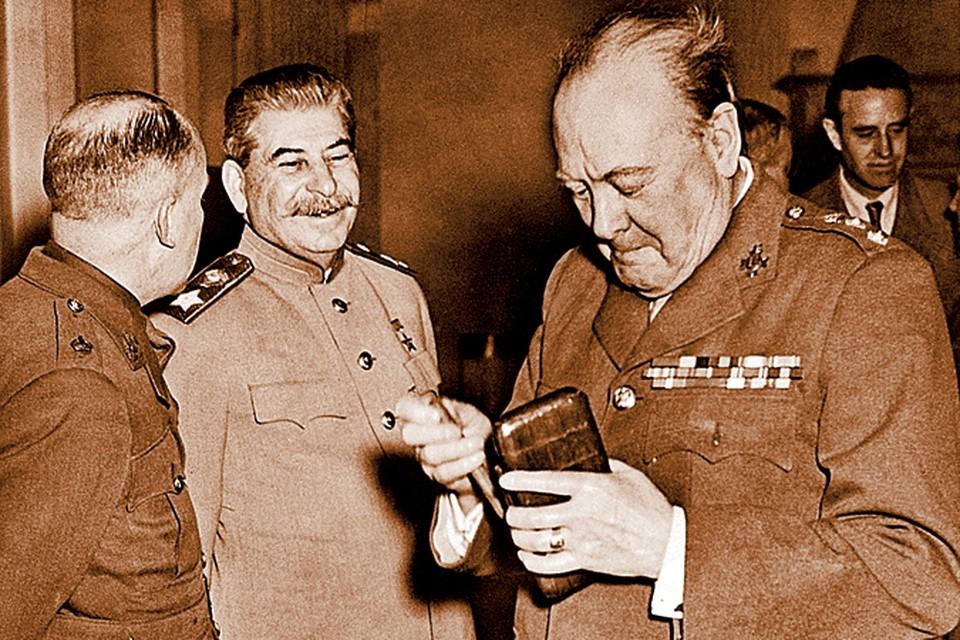 Черчилль хотел убедить США нанести ядерный удар по СССР