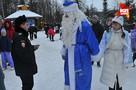 Первый день нового года в московской усадьбе деда Мороза