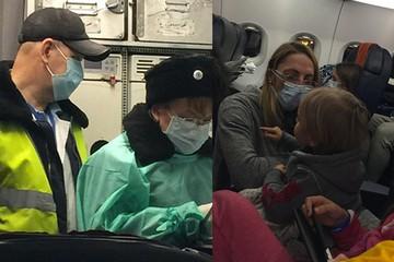 В Шереметьево изолирован самолет, у пассажирки которого заподозрили Эболу