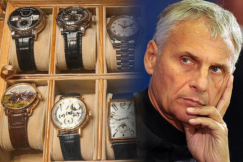 """""""Комсомолка"""" публикует фотографии конфискованных у губернатора Хорошавина драгоценностей и часов. ФОТО: СК РФ"""