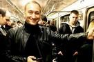 Пол ван Дайк в Москве впервые проехался в метро