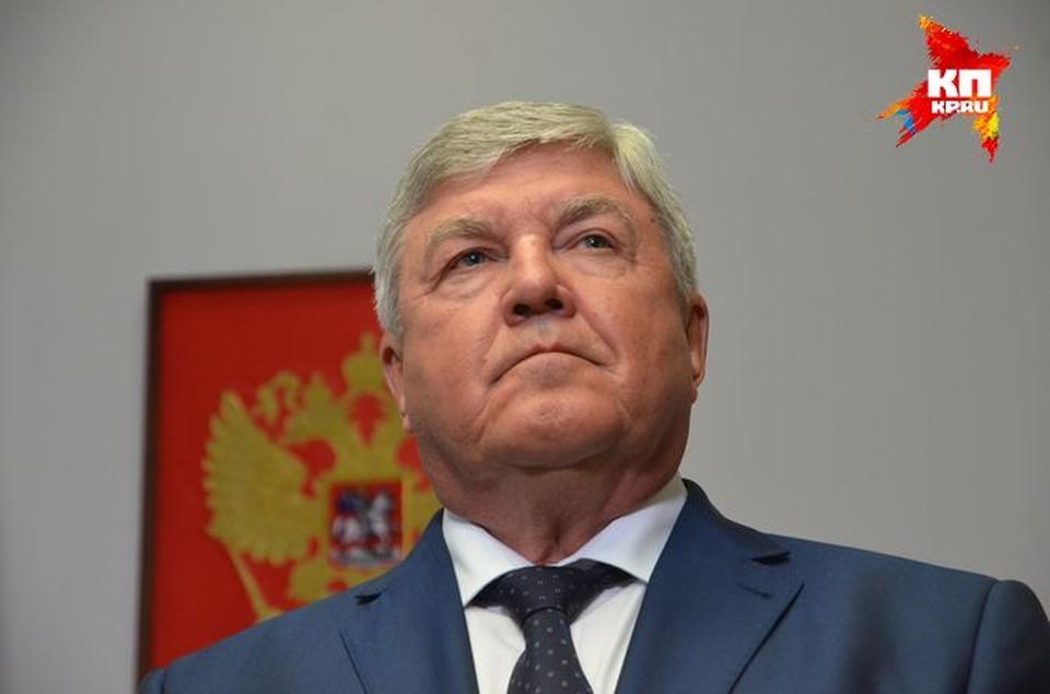Полпредом в СФО Николай Рогожкин был назначен в мае 2014 года.