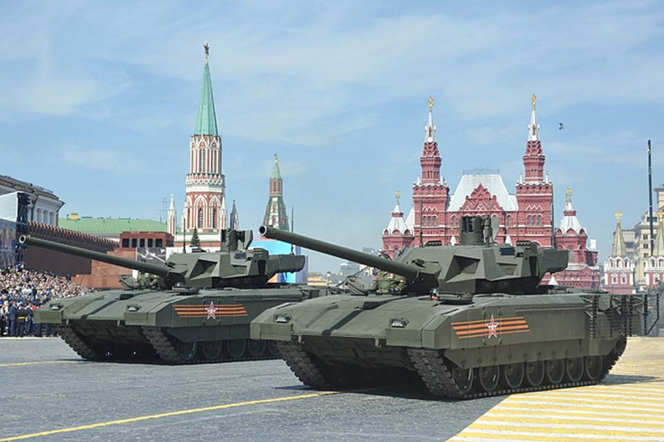 «Гвоздем программы» был, конечно, танк «Армата»