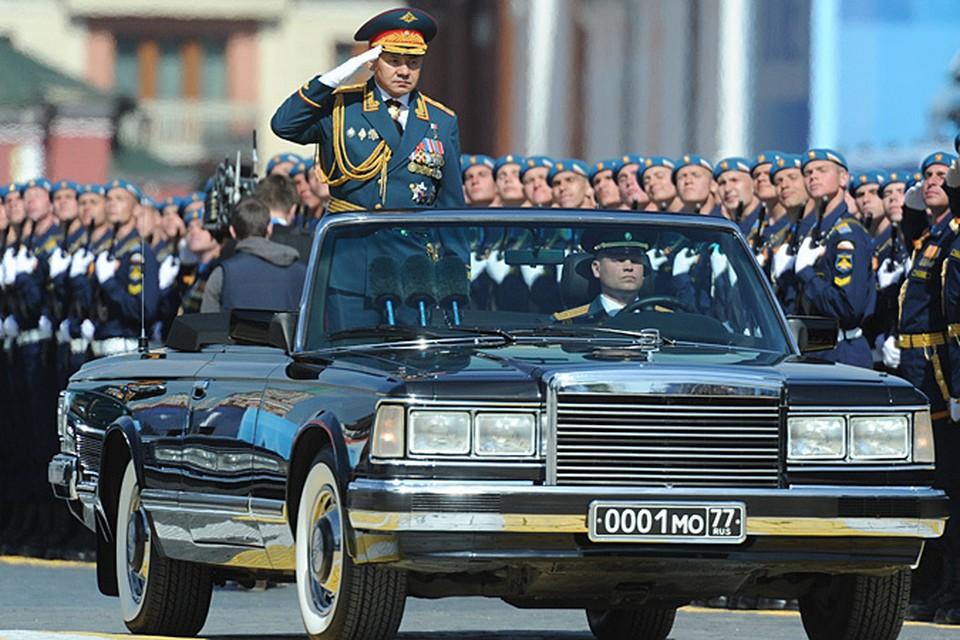 Шойгу 45-й министр обороны или военный министр России