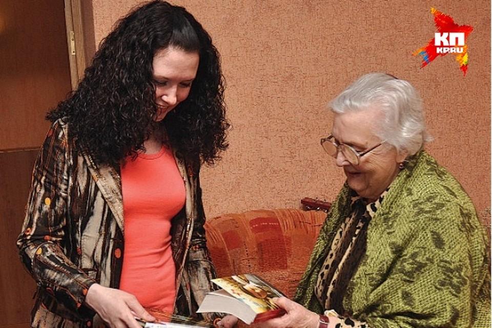 Иркутянка отмечает 90-летний юбилей вместе с «Комсомолкой»