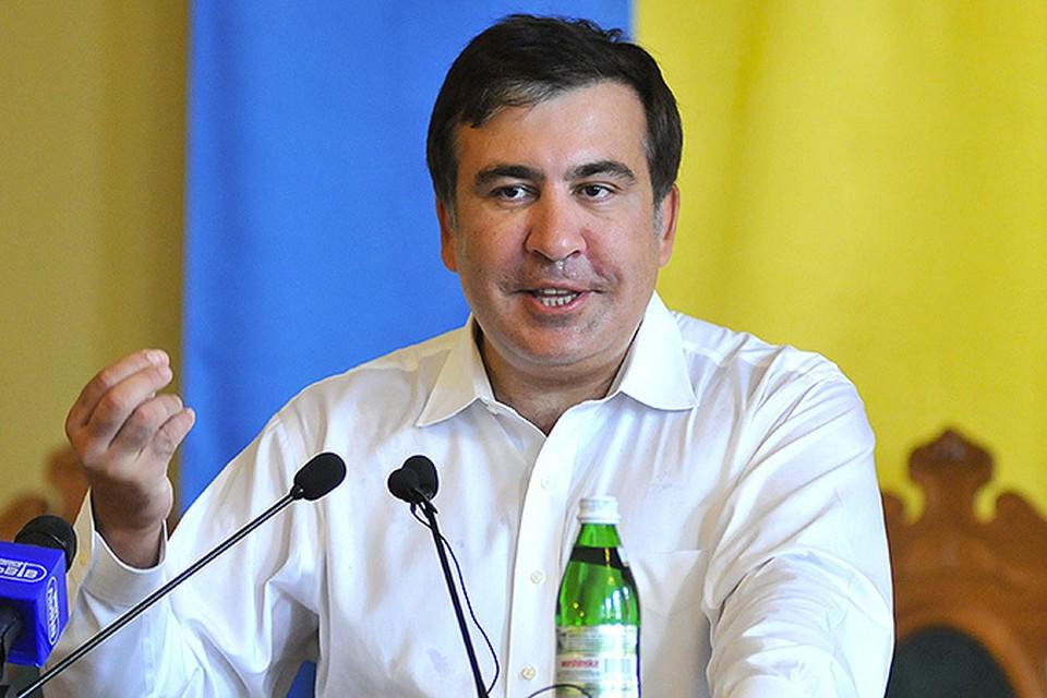 Экс-президент Грузии встанет у руля Одесской области.